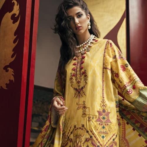 Suffuse by Sana Yasir Lawn 2019 - Original