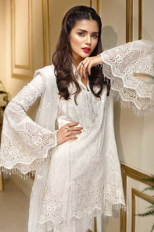 Pakistani Suits & Dresses - Unstitched Dress Material