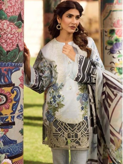 Firdous Embroidered Exclusive Lawn Collection - Original