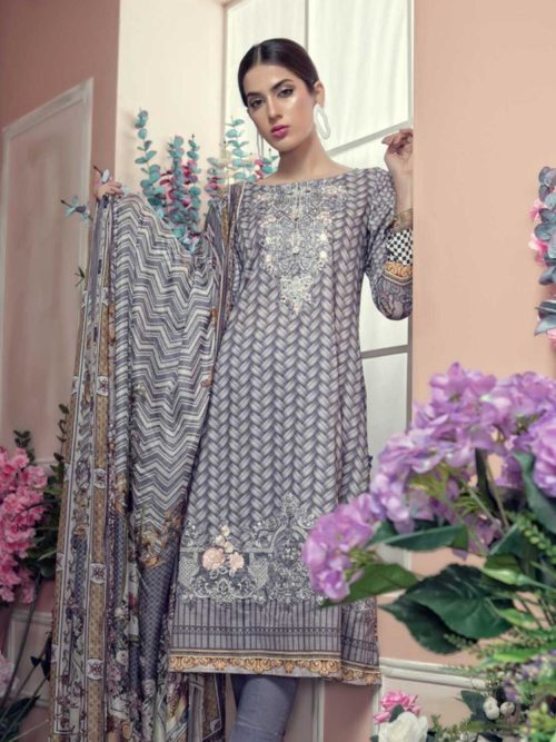 Aayra Luxury Lawn 2019 - Original