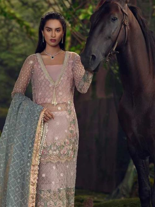 Qalamkar Foret de Luxe Wedding Collection - Original