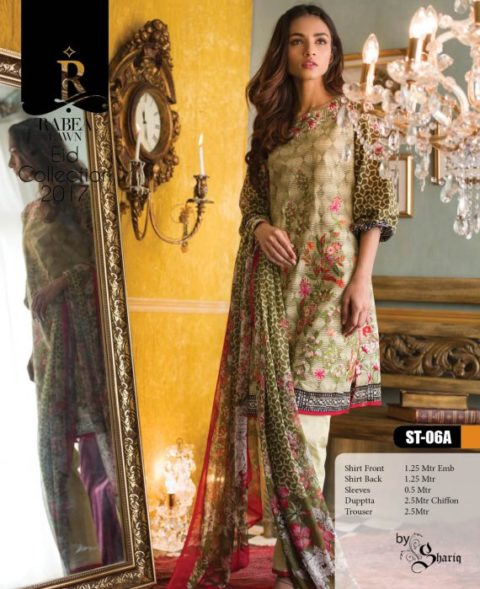 Rabea Eid Collection Lawn