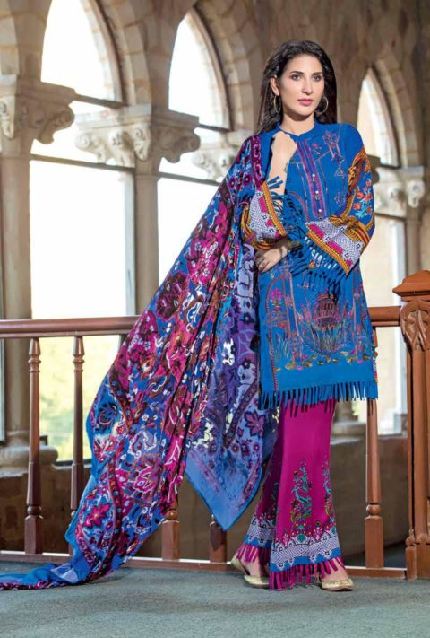 Gul Ahmed Winter Collection 2017
