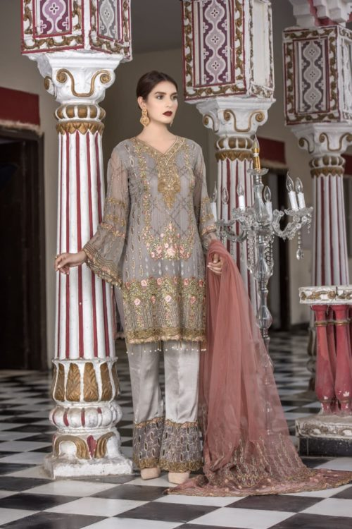 Maryam's Volume -16 Pakistani Suit Pakistani Suits & Dresses - Unstitched Dress Material Ready to Ship - Original Pakistani Suits