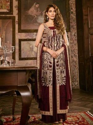 Iznik Festive Collection Pakistani Suits & Dresses - Unstitched Dress Material Chiffon Dupatta Salwar Suit