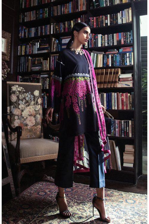 Sana Safinaz Muzlin Volume 3 M01B-18V2 Sana Safinaz best pakistani suits collection