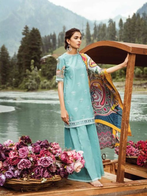 Zara Shahjahan Luxury Lawn'18 - Original