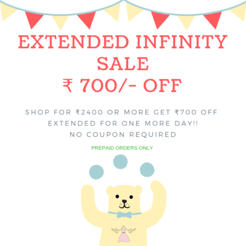 Extended Sale – INFINITY