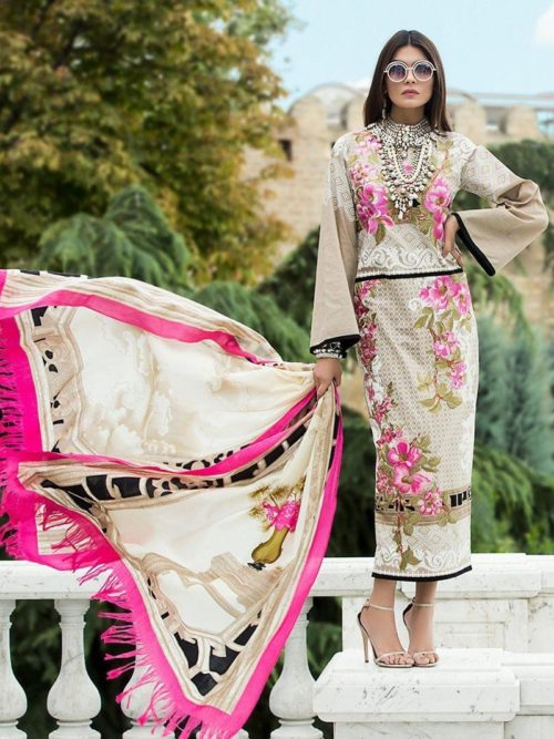 Sana Safinaz Winter Shawl Collection - Original