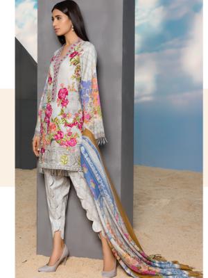 Baroque Swiss Voil 2019 – SUPER HOT! Baroque Swiss Voil 2019 - Original Baroque Pakistani Suits