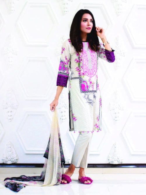 Rang Reza Designer Embroidered - Original