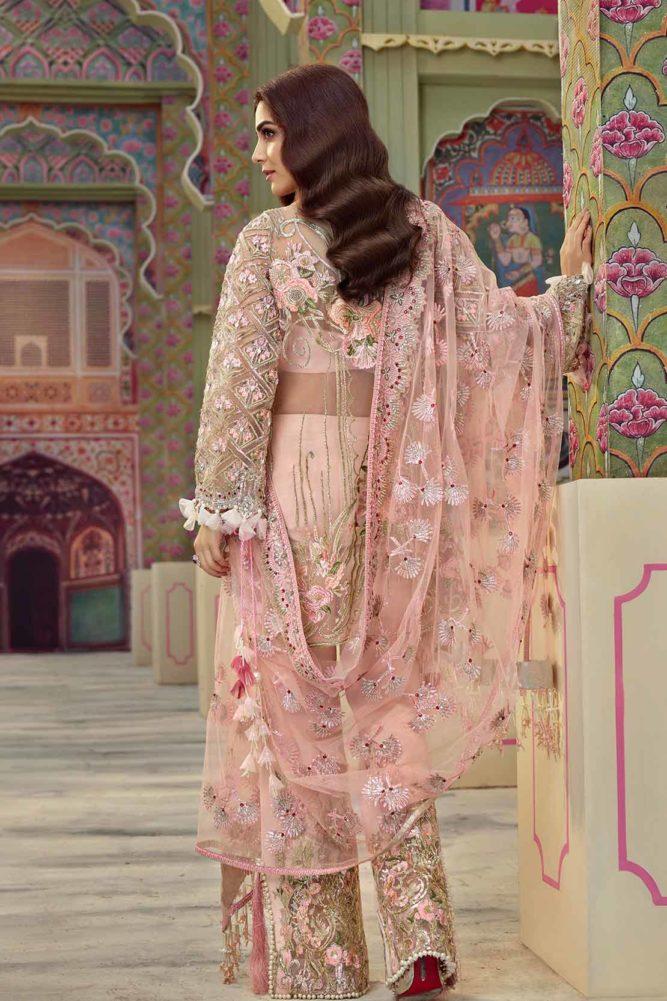 Crimson X Republic Wedding Unstitched'18 D4 Crimson Crimson Pakistani Suits