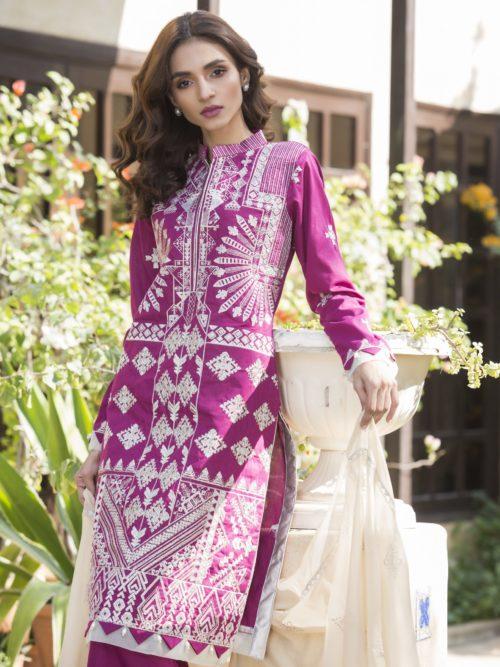 Maira Ahsan Designer Embroidered Spring Lawn -Original