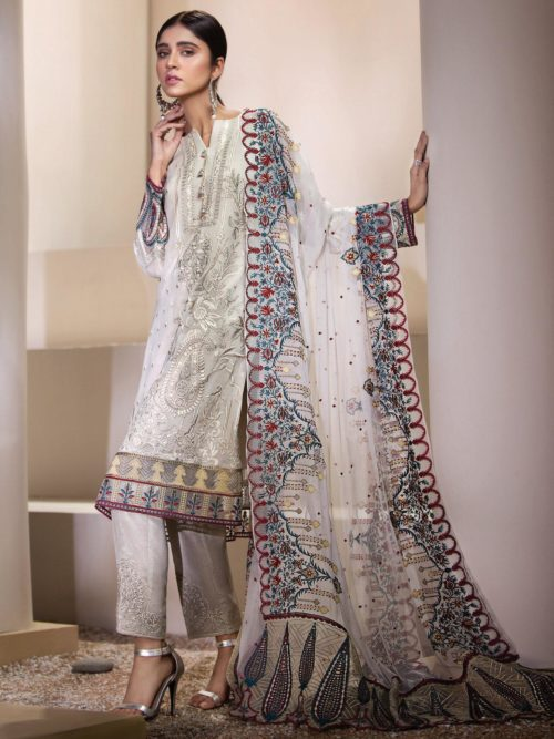 Resham Ghar Luxury Chiffon - Original