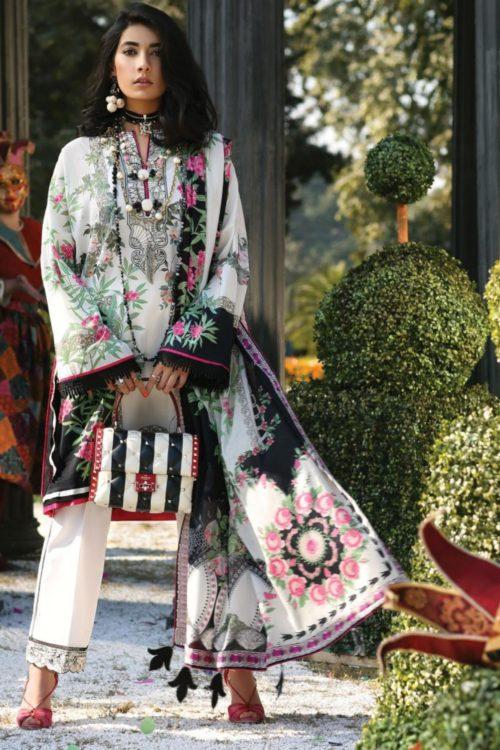 Zaha's Wonderland Summer Lawn Collection 2019  13A