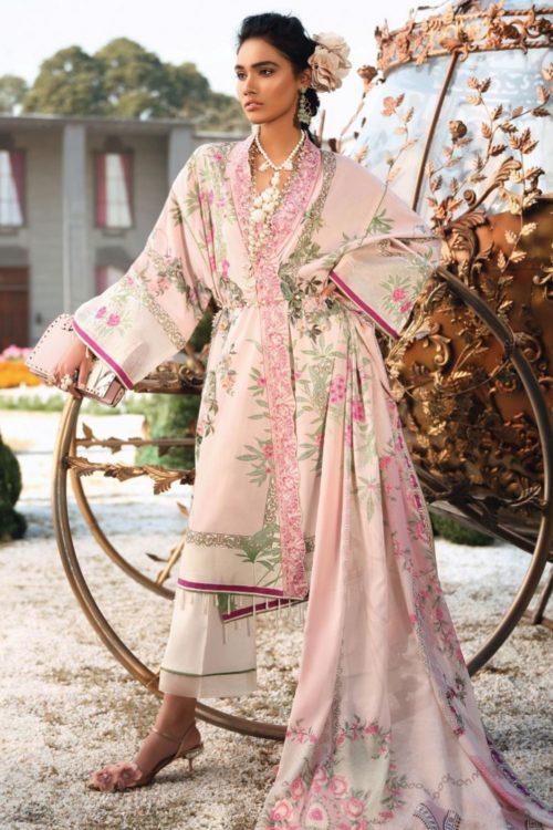 Zaha's Wonderland Summer Lawn Collection 2019  13B