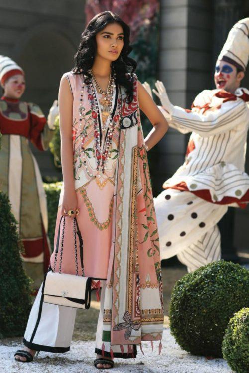 Zaha's Wonderland Summer Lawn Collection 2019  14B RESTOCKED