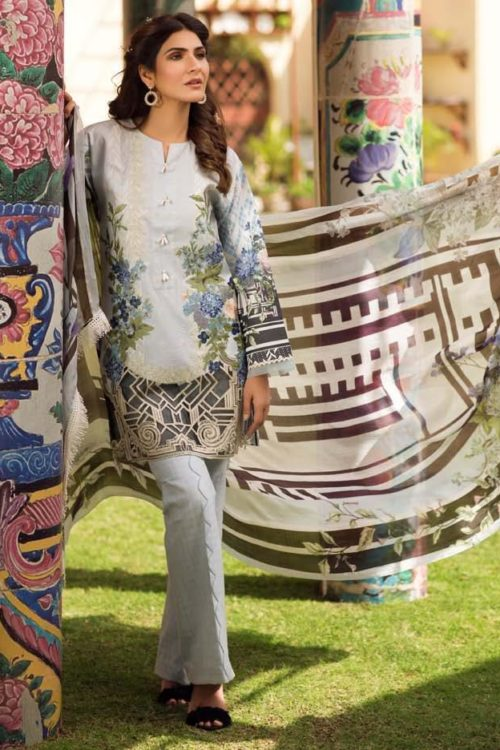 Firdous Embroidered Exclusive Lawn Collection