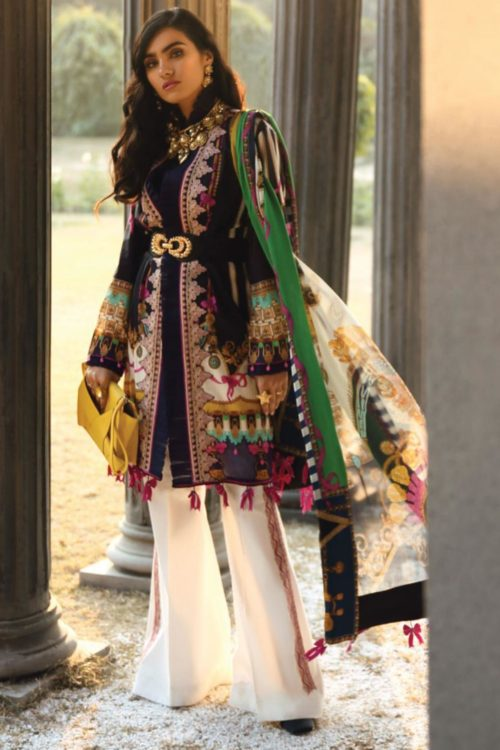Zaha's Wonderland Summer Lawn Collection 2019  17A – 2 PC – NO DUPATTA – HOT Best Sellers Restocked best pakistani suits collection
