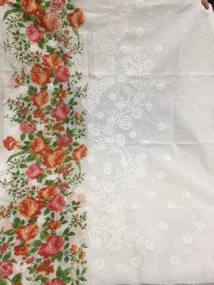 Chikankari Lawn Embroidered Kurta (17)