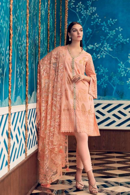 Gul Ahmed Premium Luxury Collection PM252 Best Sellers Restocked Festive