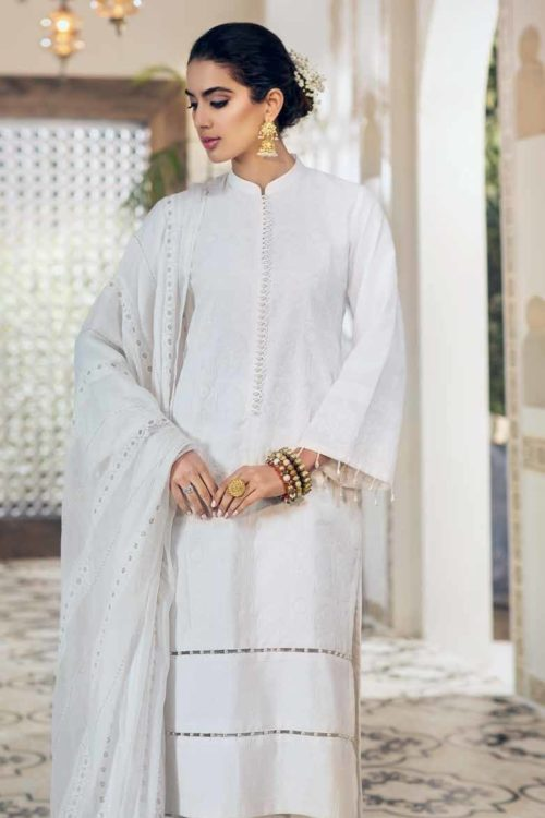 Gul Ahmed Premium Luxury Collection LSV14 Best Sellers Restocked Chiffon Dupatta Salwar Suit