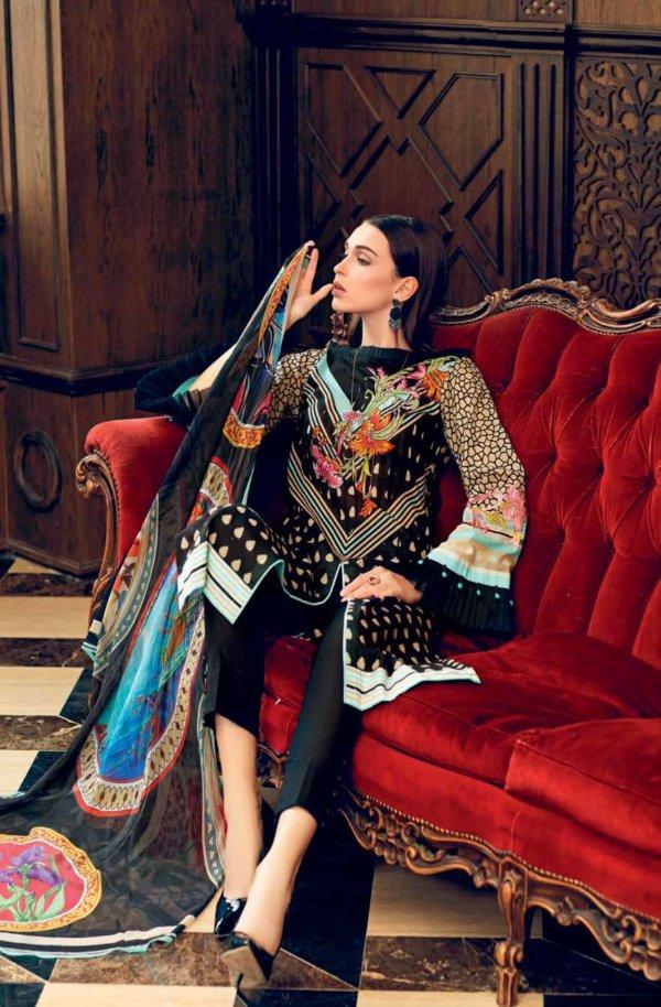Gul Ahmed Premium Luxury Collection BM85