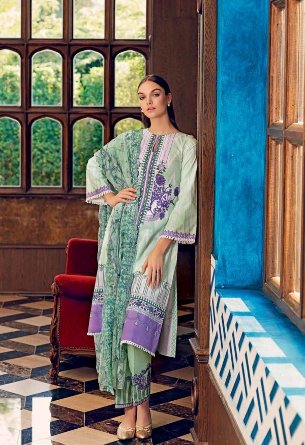 Gul Ahmed Premium Luxury Collection BCT 01