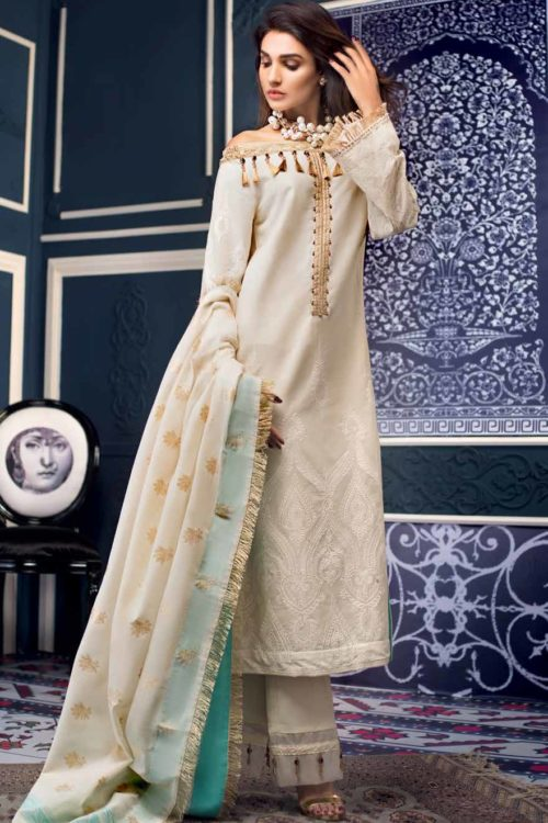Gul Ahmed Premium Luxury Collection MJ03