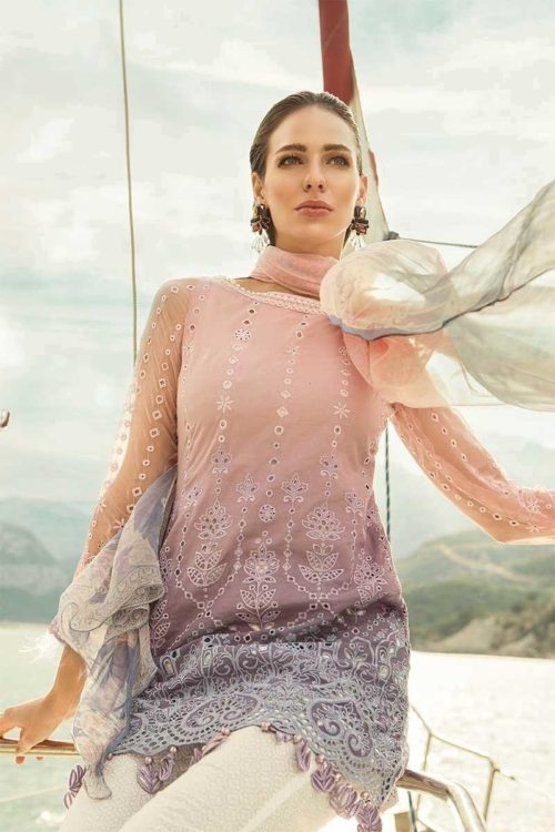 MARIA.B. Lawn 2019 4-B RESTOCKED Best Sellers Restocked best pakistani suits collection