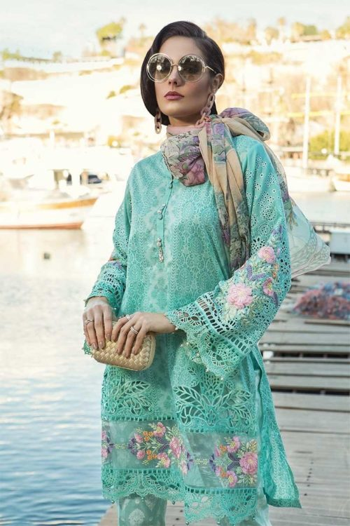 MARIA.B. Lawn 2019 10-B – RESTOCKED Best Sellers Restocked best pakistani suits collection