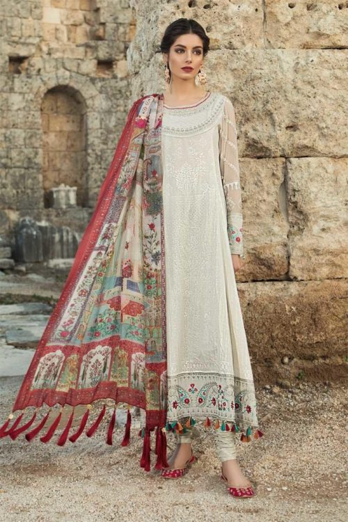 MARIA.B. Lawn 2019 11-A RESTOCKED Best Sellers Restocked best pakistani suits collection