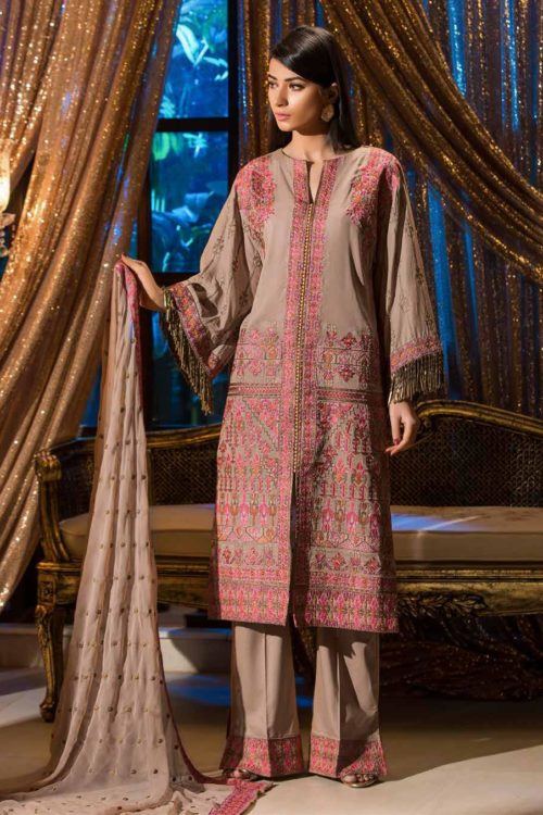 Johra Gold Swiss Voil Embroidered Collection RESTOCKED Lawn - Reloaded best pakistani suits collection