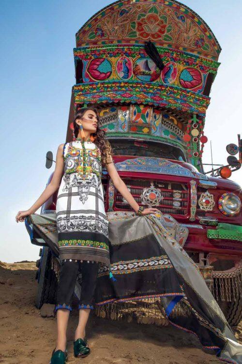 Gul Ahmed Lawn 2019 -Summer Essentials Husn-e-Aara TL197