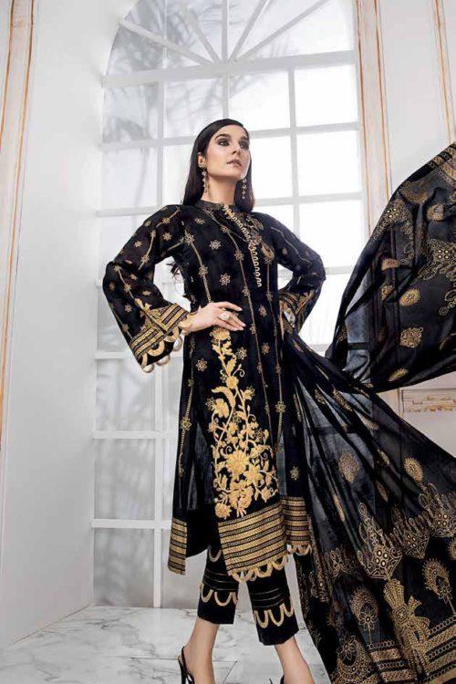 Gul Ahmed Lawn 2019 -Summer Essentials Husn-e-Aara CL529B