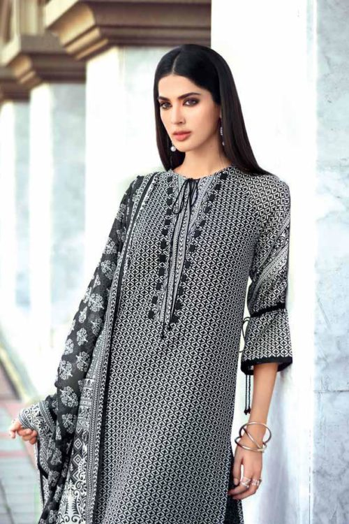 Gul Ahmed Lawn 2019 -Summer Essentials Husn-e-Aara B38