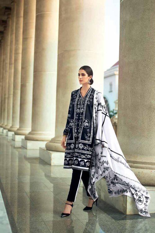 Gul Ahmed Lawn 2019 -Summer Essentials Husn-e-Aara B37