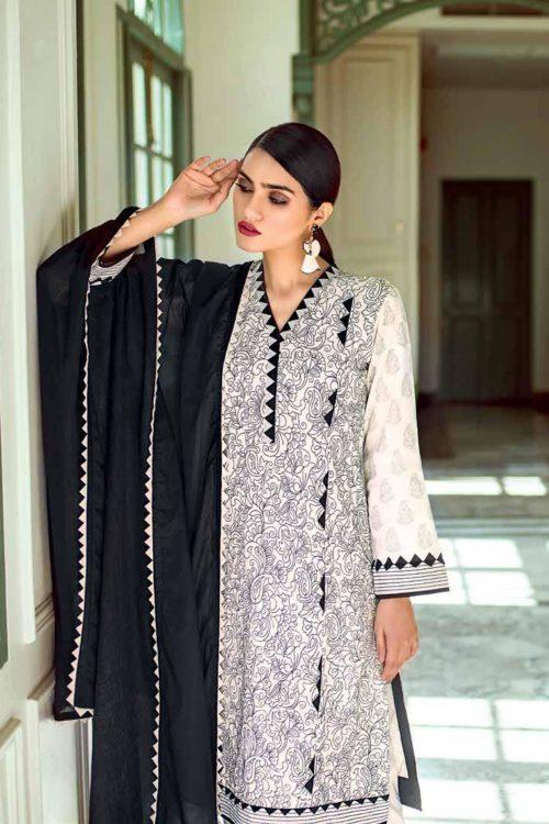 Gul Ahmed Lawn 2019 -Summer Essentials Husn-e-Aara CL566