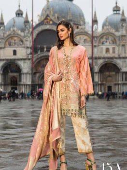Sana Safinaz Luxury Lawn'19 15A  – RESTOCKED