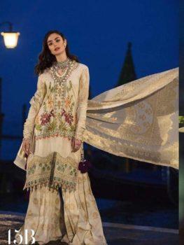 Sana Safinaz Luxury Lawn'19 15B RESTOCKED