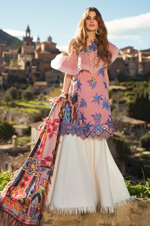 Elan Lawn 2019 EL-01 B (SANGRE) – FULLY STITCHED IN LARGE SIZE