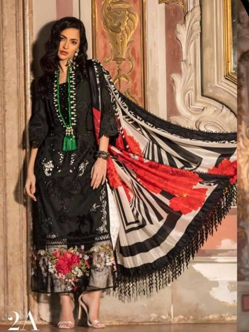 Sana Safinaz Luxury Lawn'19 2A  – HOT Best Sellers Restocked Best Sellers