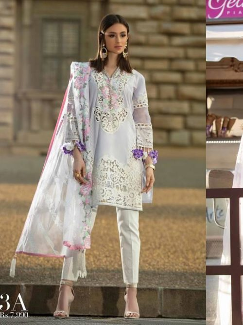 Sana Safinaz Luxury Lawn'19 3A  – – RESTOCKED Miscellaneous best pakistani suits collection
