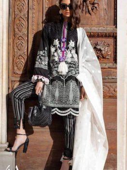 Sana Safinaz Luxury Lawn'19 4A  – RESTOCKED