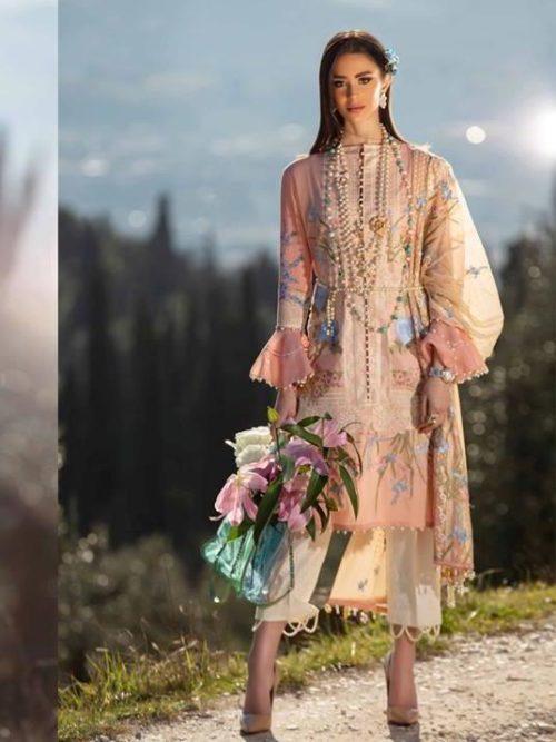 Sana Safinaz Luxury Lawn'19 6A RESTOCKED