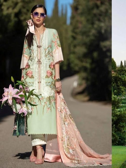 Sana Safinaz Luxury Lawn'19 6B RESTOCKED