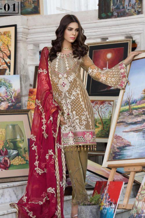 *On Sale* Elaf Premium Chiffon Vol 2 Chiffon Dupatta Salwar Suit