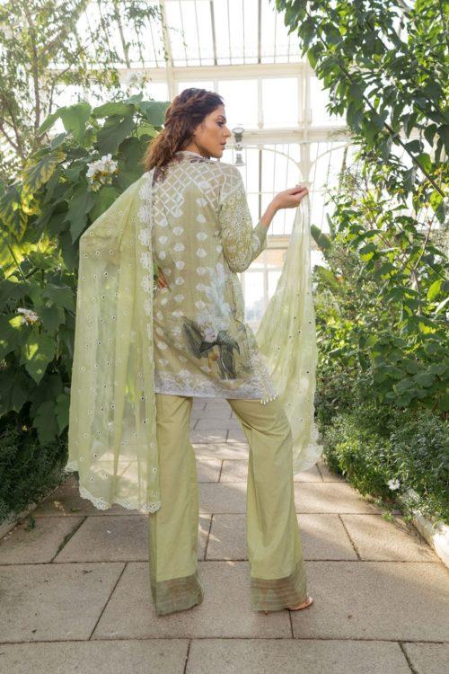 Sobia Nazir Lawn 2019 6B RESTOCKED Best Sellers Restocked Chiffon Dupatta Salwar Suit