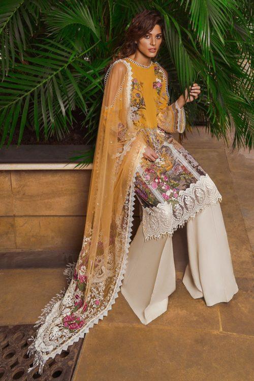 Sobia Nazir Lawn 2019 7B RESTOCKED Lawn - Reloaded Lawn Dupatta Salwar Suits
