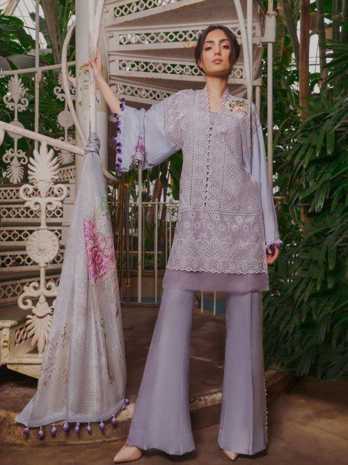 5ca040f9b7 Sobia Nazir Lawn 2019 - Original - The Fashion Station
